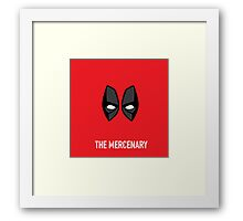 The Mercenary Framed Print