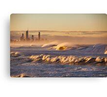 Waves, Waves, Waves... Canvas Print
