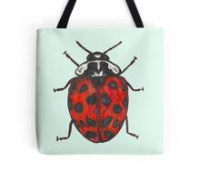 Red 22 spot Ladybird Tote Bag
