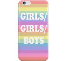 Girls/Girls/Boys Panic! at the disco iPhone Case/Skin