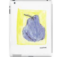 Pêra azul iPad Case/Skin