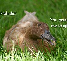 You make me laugh by Trouty