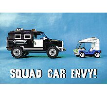 Squad car envy! Photographic Print