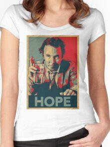 DOUG STANHOPE Women's Fitted Scoop T-Shirt