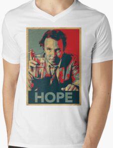 DOUG STANHOPE Mens V-Neck T-Shirt