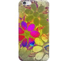 Psychedelic Garden of Flowers - Mosaics iPhone Case/Skin