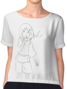 Haku - Spirited Away Chiffon Top