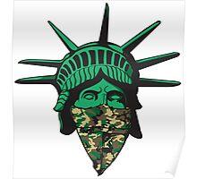 Statue of Liberty Bandana Poster