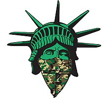 Statue of Liberty Bandana Photographic Print