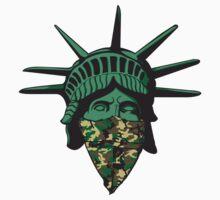 Statue of Liberty Bandana T-Shirt