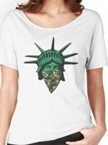Statue of Liberty Bandana Women's Relaxed Fit T-Shirt