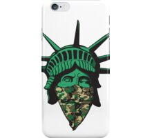 Statue of Liberty Bandana iPhone Case/Skin