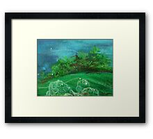 Celtic Spirit Stones Framed Print