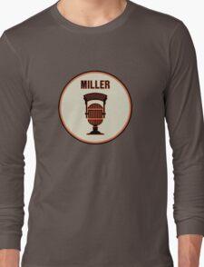 SF Giants HOF Announcer Jon Miller Pin Long Sleeve T-Shirt