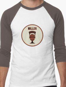 SF Giants HOF Announcer Jon Miller Pin Men's Baseball ¾ T-Shirt