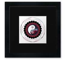 Balance in All Things Sacred Framed Print