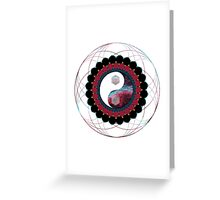 Balance in All Things Sacred Greeting Card
