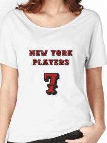New York Players Women's Relaxed Fit T-Shirt