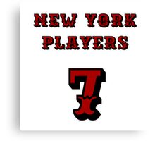 New York Players Canvas Print