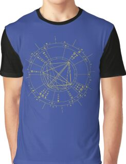 "CONTACT US BEFORE ORDERING! For Your Custom Astrology Products please read ""Artist Notes"" below Graphic T-Shirt"