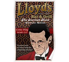 Lloyd's Bar and Grill Poster