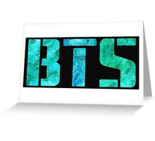 Turquoise BTS Greeting Card