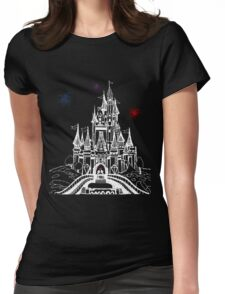 Mouse in Love at Midnight Womens Fitted T-Shirt
