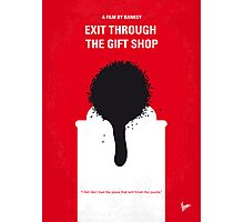 No130 My Exit Through the Gift Shop minimal movie poster Photographic Print