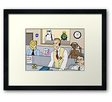 Mission Control Framed Print