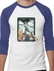The Red Flower Men's Baseball ¾ T-Shirt