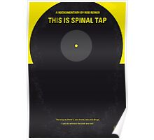 No143 My This Spinal Tap minimal movie poster Poster