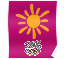 SUMMER in RIO Poster