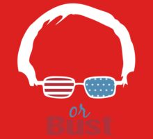 Bernie or Bust (all backgrounds available) One Piece - Long Sleeve