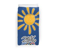 SUMMER in RIO Duvet Cover
