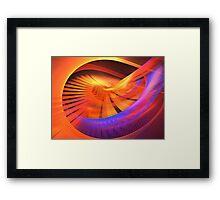 Solstice Spin Framed Print