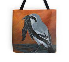 Shrike with Prey Tote Bag