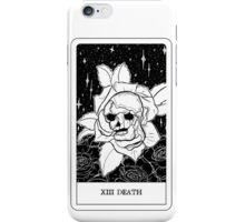 XIII Death Tarot Card Design  iPhone Case/Skin