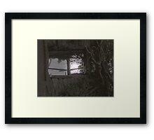 Moonlight at the window - Strabane Co Tyrone  Framed Print