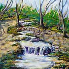 Fern Dell Creek Noon by Randy Sprout