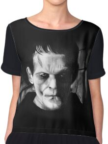 THE MONSTER of FRANKENSTEIN Chiffon Top