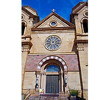 St. Francis Cathedral Basilica Study 3 Photographic Print