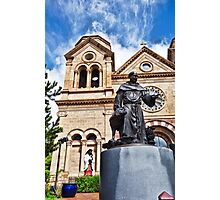 St. Francis Cathedral Basilica Study 2  Photographic Print