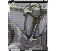In The Shower - Portrait of a Woman iPad Case/Skin