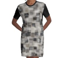 Agate Obsidian  Graphic T-Shirt Dress