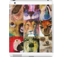 Animal fayre iPad Case/Skin