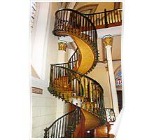 Loretto Chapel Staircase  Poster