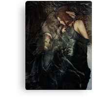 deathly love Canvas Print