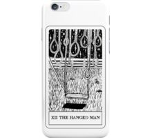 XII The Hanged Man Tarot Card Design iPhone Case/Skin