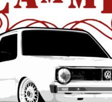 DLEDMV - Slammed Sticker