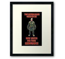 Trumpenstein Framed Print